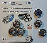 shaver-parts HQ8universale testa rotante di ricambio