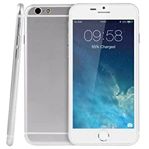 i6 8GB Silver, 4.7 inch 3G Android 4.4.2 Smart Mobile Phone, MTK6582 Quad Core 1.3GHz, RAM: 1GB, WCDMA & GSM