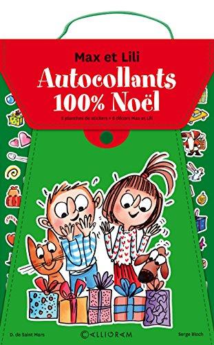 Pochette de stickers Noël - Max et Lili