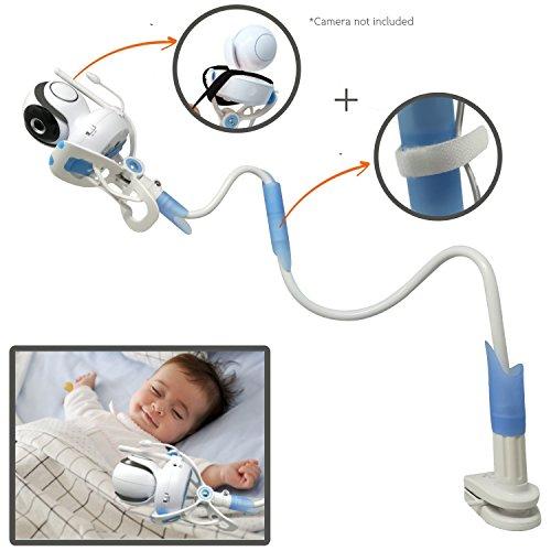 ÿolle | Universal-Monitor mit Riemen, flexibel, Baby Kamerahalterung mit | kein Bohren | sicherer Monitor für Ihr Baby