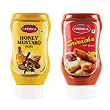 Cremica Honey Mustard, 425g with Sriracha Sauce, 440g
