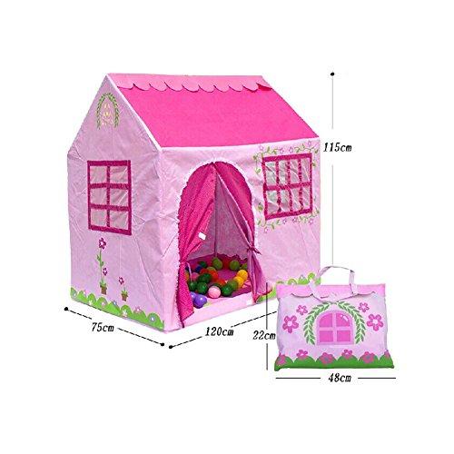 pink-house-shape-kids-play-tents-indoor-outdoor-jouer-tente-moins-de-6-ans