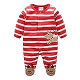Bébé Combinaison bebe hiver Garçon Fille Pyjama Vetements Unisexe Toddler Enfants Romper Coverall Jumpsuit, Juleya