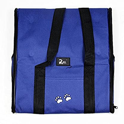 Nestling® Blue Oxford Cloth Pet Carrier Bag Dog Cat Bag Foldable Pet Travel Carrier Ideal for Puppy, Cat, Rabbit and… 8