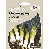Unwins Pictorial paquete–cebolla primavera shimonita–250Semillas
