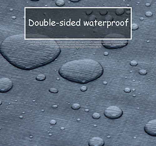 Zoom IMG-3 impermeabile poncho pioggia tenda tela