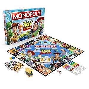 Monopoly Toy Story Juego de Mesa para Familia y niños Mayores de 8 años, Color sí. (Hasbro E5065)
