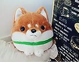 ShireyStore Simulation Mameshiba Plüsch Shiba InuToy Gefüllte Shiba Inu Tier Spielzeug Tägliche Dekoration (Braun, 28 cm)