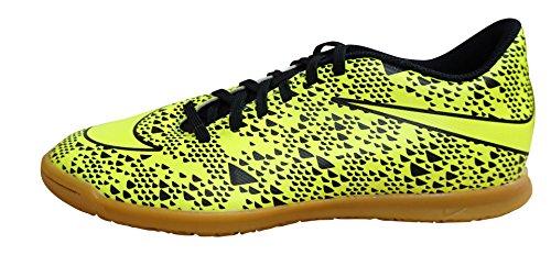 Nike Bravata Ic, Chaussures de Foot Homme, Taille Vert / noir (électrique / électrique - noir)