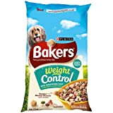 Bakers Complete Dog Food Weight Control Tender Meaty Chunks Tasty Chicken and Country Vegetables, 12.5 kg