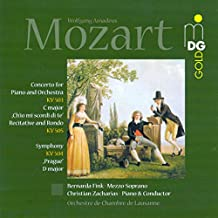 """Recitative and Rondo K. 505, """"Ch'io mi scordi di te"""" for Soprano, Obbligato Piano and Orchestra: Recitativo - Rondo. Andante"""