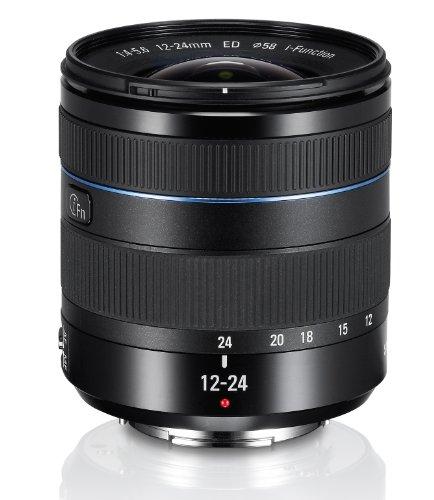 Samsung EX-W1224ANB Objektiv 12-24mm F4-5.6 ED für Samsung NX-Serie (Kamera Samsung Nx)