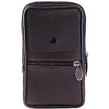 Portefeuille Homme Fermeture à GlissièRe Wallet Portefeuille Mobile Style  RéTro ... 95907fff4d0
