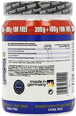 Weider Nutrition L-Glutamine Powder 400g from Weider Nutrition