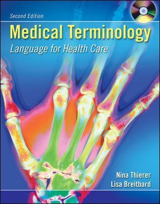 Medical Terminology: Language for Health Care with Student and Audio CD's + Flashcards by Nina Thierer (2005-12-09) (Medical Language Flashcards)