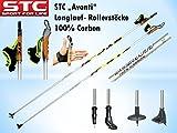 STC Avanti 100% Carbon Langlauf Stock Skating Roller Stöcke Skike