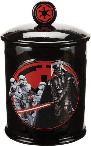 Star Wars 99141 - Darth Vader Keksdose aus Keramik in Geschenkpackung, 17 x 17 x 27 cm