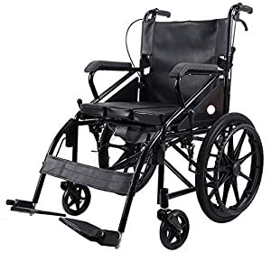 Wheelchair Elderly folding wheelchair Travel wheelchair Elderly hand push scooter