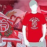 World of Football Bayern T-Shirt sons of munich südkurve rot - S