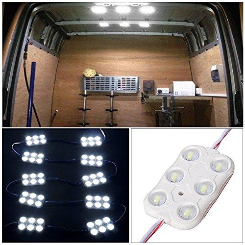 Audew-10x6-LED-Auto-Innenbeleuchtung-Lampe-Interior-Licht-Leseleuchte-Innenraumbeleuchtung-12V