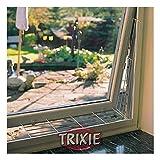 TRIXIE - Griglia Protettiva per finestre, 65 x 16 cm, Colore: Bianco