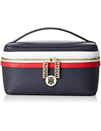 Tommy Hilfiger Damen Th Core Make Up Bag Stoff-und Strandtasche, Blau (Corporate), 10x10x19 cm