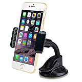 Mpow Flex Dashboard Mount Universal Car Mount Phone Holder Cradle for iPhone/Galaxy series, Nexus, LG, HTC Sony and More Phone Models