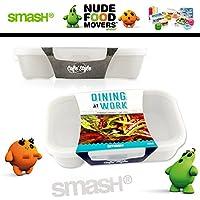 Smash - Nude Food Movers - Lunchbox (weiß/hellgrau)
