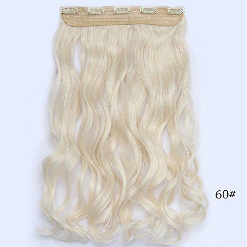 12 stücke Frauen Perücken Haarverlängerungen remy menschliches haar Vollen Kopf Clip Lange Haare cosplay party