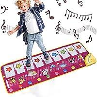 Alfombrillas musicales para niños, letease, piano para bebé, manta de juguete para jugar