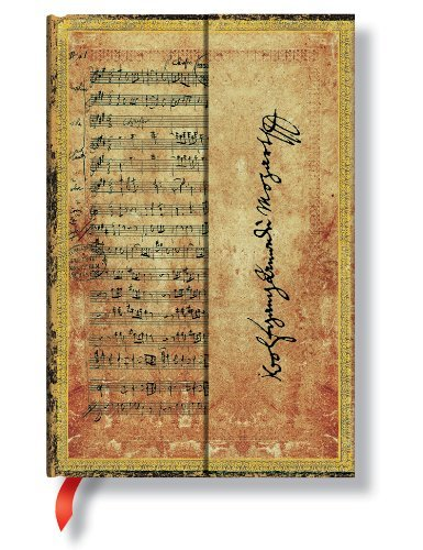 Mozart Mini Wrap (Embellished Manuscripts Collection) by Paper Blanks (4-May-2007) Stationery -