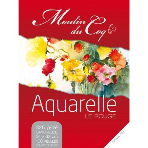 Hahnemuhle Aquarellblock 24x32 cm 325 g/m² 100 Blatt Hahnemuhle
