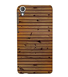 printtech Wooden Design Back Case Cover for HTC Desire 820G+ dual sim