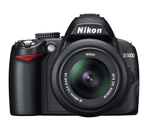D3000 Digital SLR Camera (Boitier nu, 10.2 megapixel)