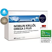 NOBILIN KRILLÖL OMEGA 3 PLUS - 60 Kapseln