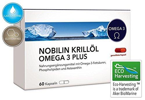 NOBILIN KRILLÖL OMEGA 3 PLUS - 60 -