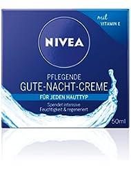 NIVEA 2er Pack Regenerierende Nachtcreme, 2 x 50 ml Tiegel, Pflegende Gute-Nacht-Creme