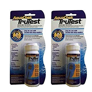 Happy Hot Tubs TruTest Test Strips Refill Hot Tub Spa Aquachek Swimming Pool ACCURATE RESULTS (2 x 50)
