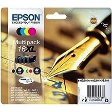 Epson C13T16364012 Cartucce Inkjet A.R. Serie 16XL, Confezione da 4: Nero/Ciano/Magenta/Giallo