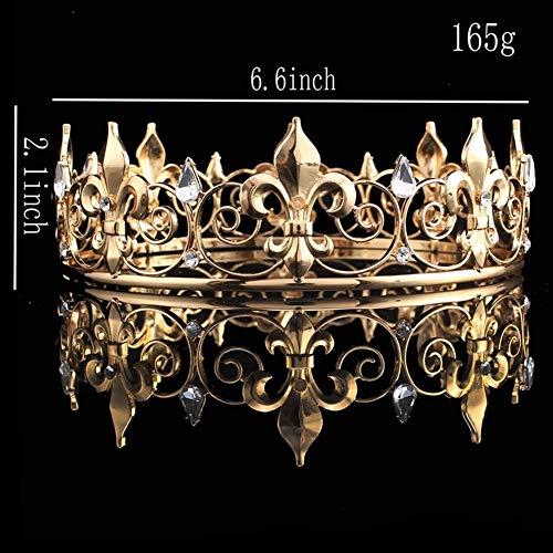 Queen Krone Der Männer, Kristall Volle Runde