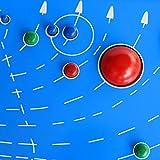 Juegos de Montessori de Astronomía Sensorial Sistema Solar Astral Planetas Mapa Madera