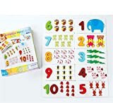 Woop Bambini Educational Wooden Puzzle Toy Bambino Prescolare 123 Nummer Cards Giocattoli Cognitivi Puzzle Animal Puzzle