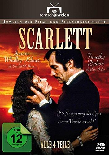 Scarlett (1-4) - Die Fortsetzung des Epos Vom Winde verweht (Fernsehjuwelen) [2 DVDs]