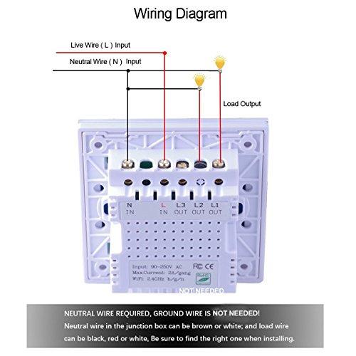 wireless light switch wiring - boards.ie