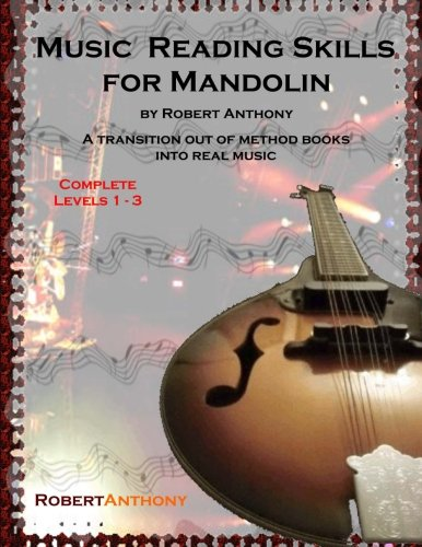 Music Reading Skills for Mandolin Complete Levels 1 - 3