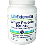 Whey Protein Isolate Natural Chocolate Flavor 454 grams 1 lb or 16 oz
