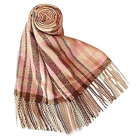 Fashion Wild Imitation Cachemire Echarpes tricotées tissées à la main