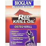 Bioglan Huile de Krill Rouge Ostéokrill Boîte de 30 Gélules