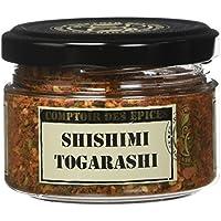 Comptoir des Epices Shishimi Togarashi ou Sept Epices Japonais 60 g -
