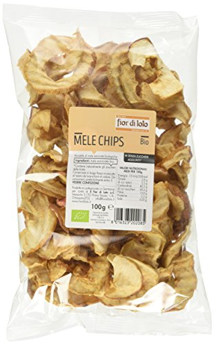 Fior di Loto Mele Chips Mele Essicate - 100 gr